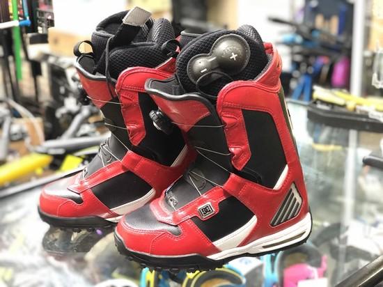 Ботинки сноубордические DC Judge р.5 (37) red/black