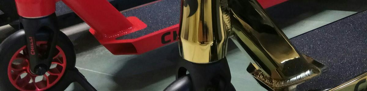 Новая поставка самокатов Chilli